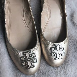 Tory Burch Melinda Flats - Worn a few times EUC